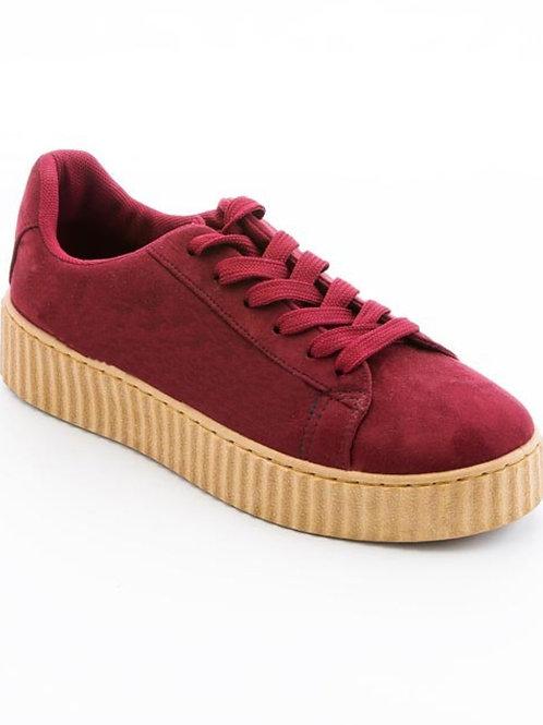Suede Lo-Top Sneakers
