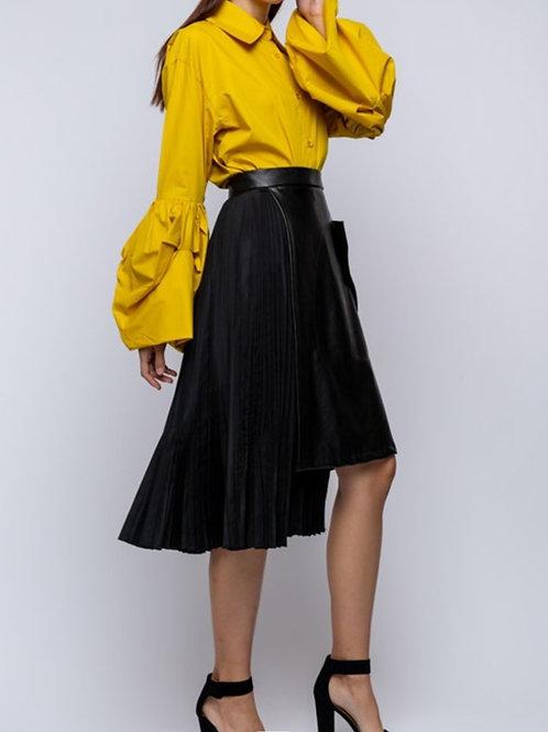 Asymmetrical Vegan Skirt