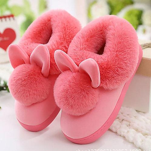 Winter Rabbit Slippers