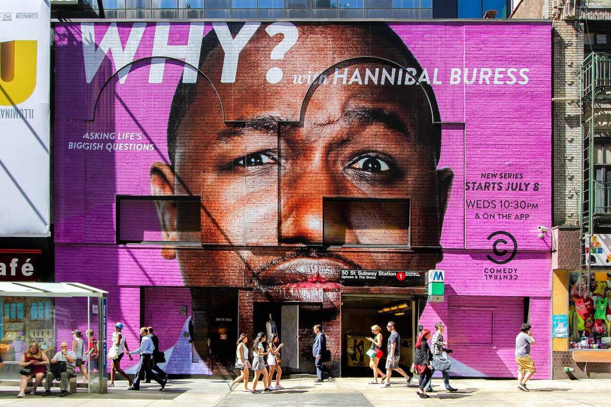 Hannibal Buress Wallscape