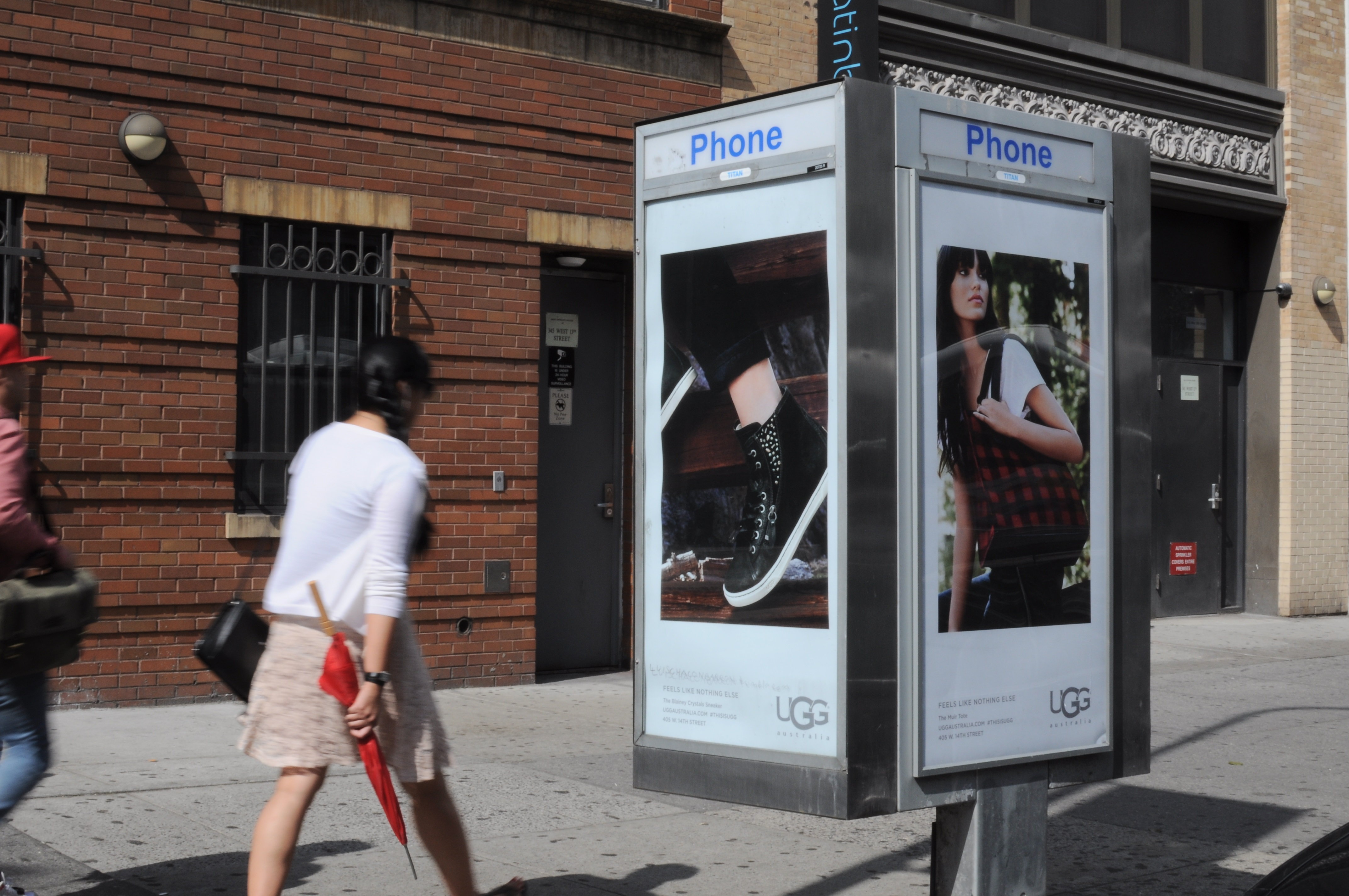 New York Phone Kiosk