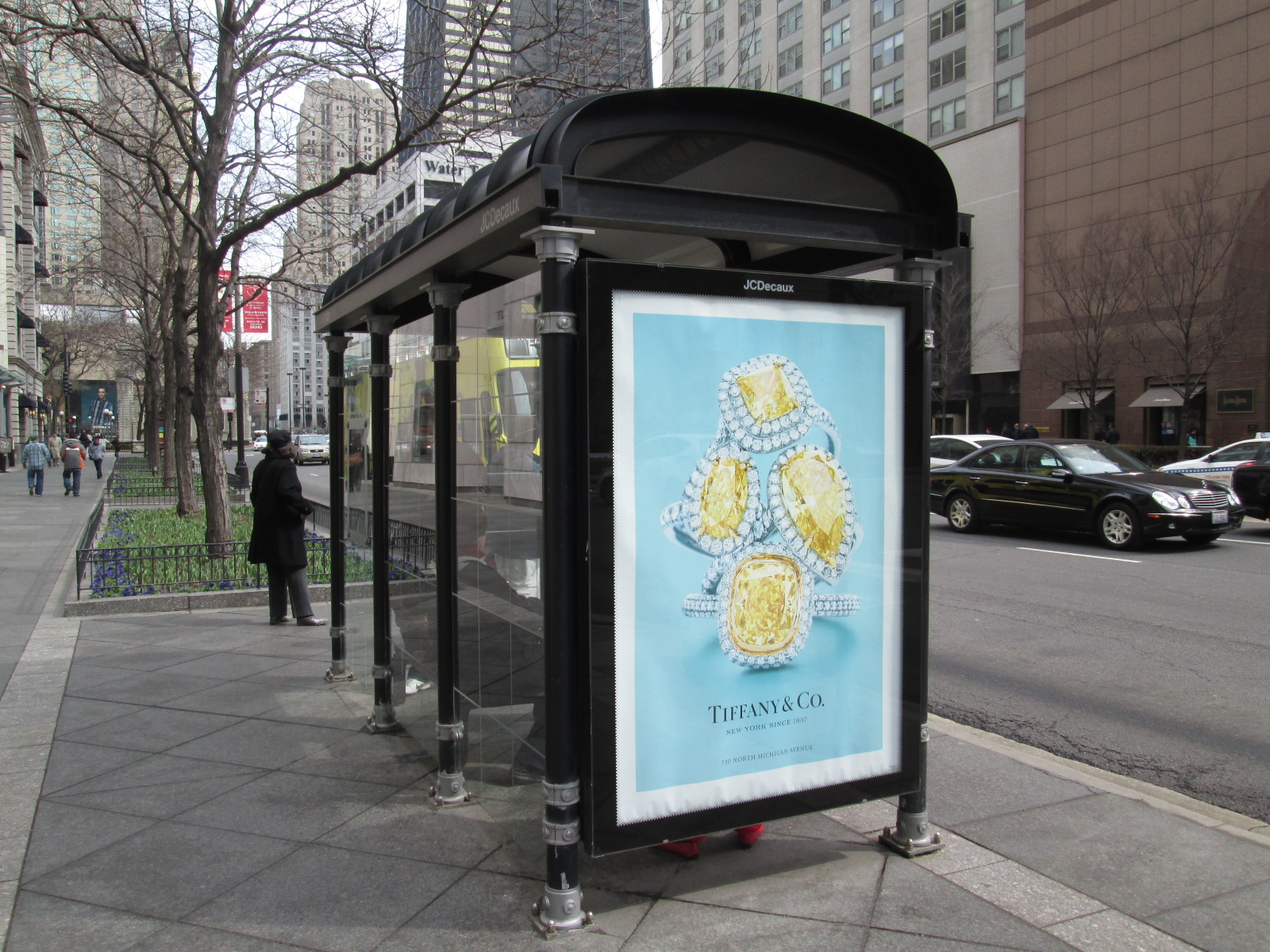Chicago Bus Shelter