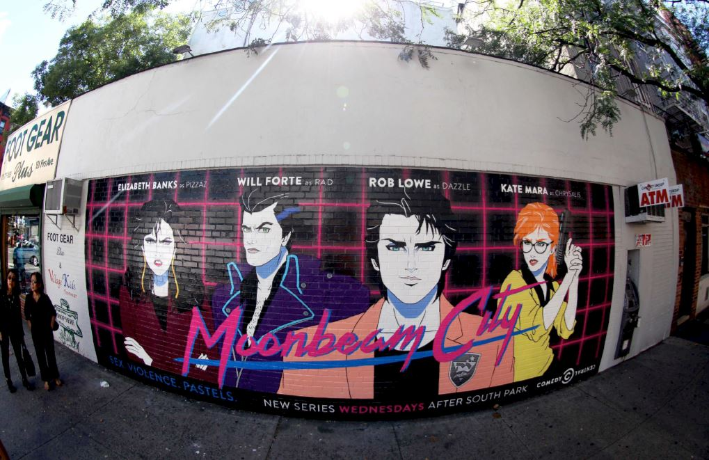 Moonbeam City Mural