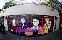 Moonbeam City Mural