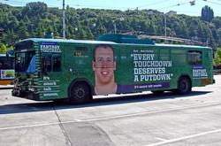 Seattle Wrapped Bus
