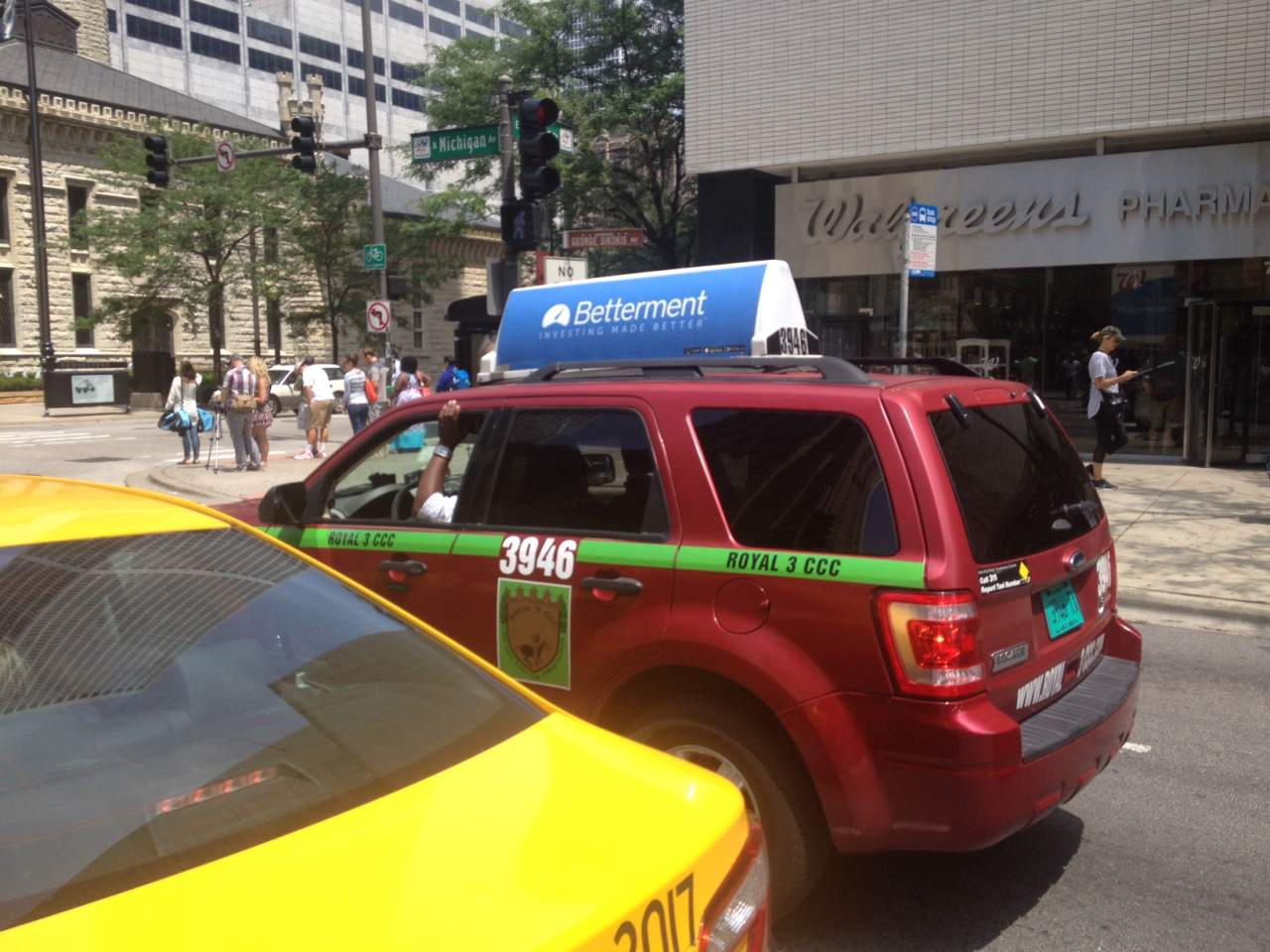 Chicago Taxi Top