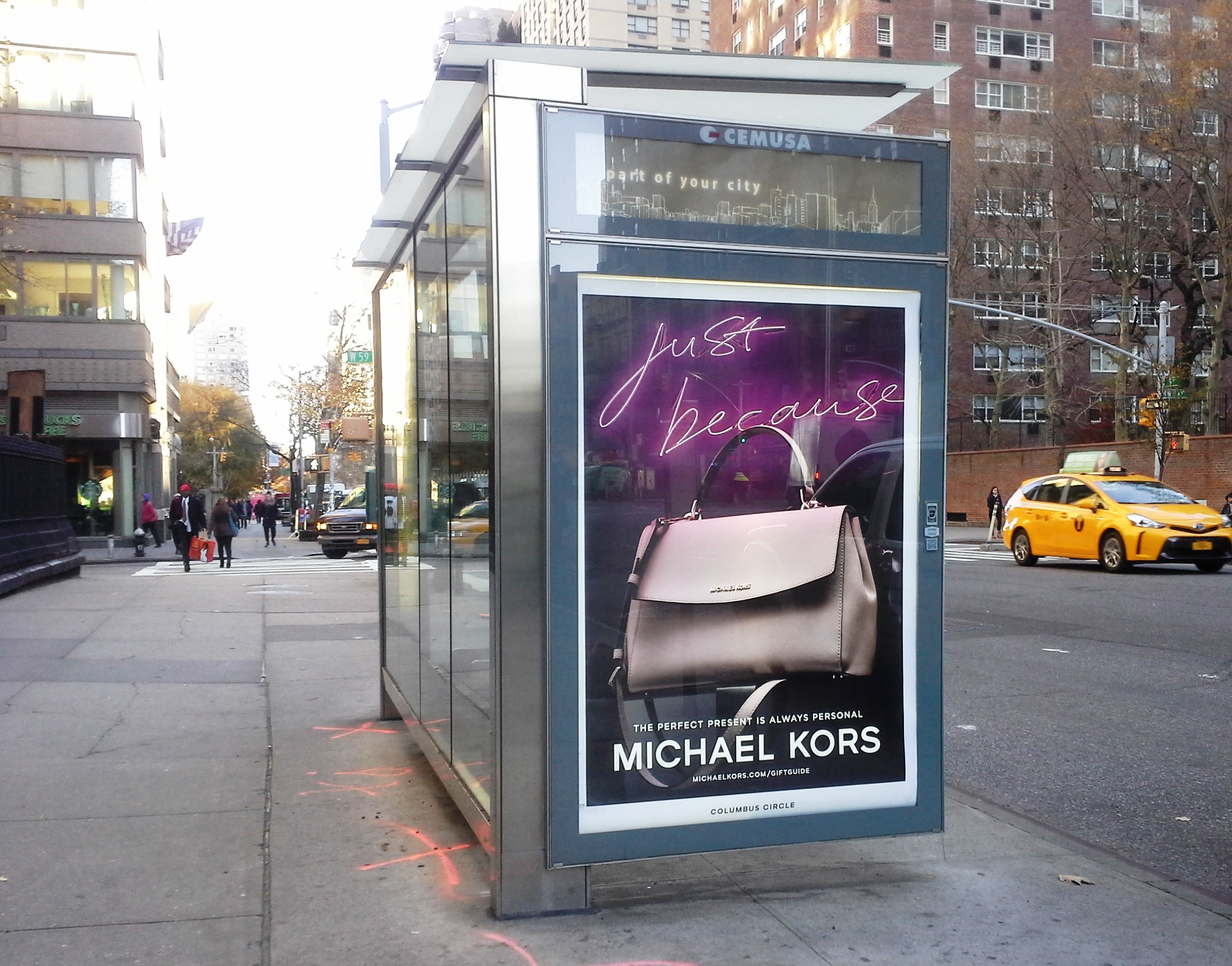New York Bus Shelter