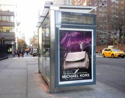 New York Bus Shelter