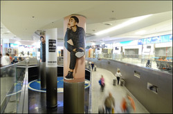 Miami Airport Column Wraps