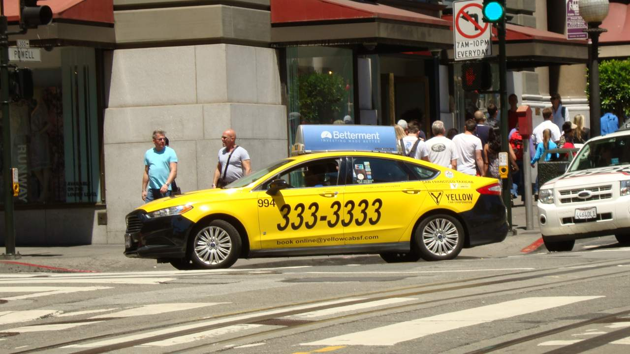 San Francisco Taxi Top