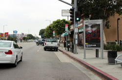 Los Angeles Bus Shelter