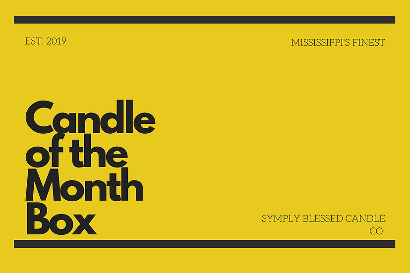Candle of the Month Box