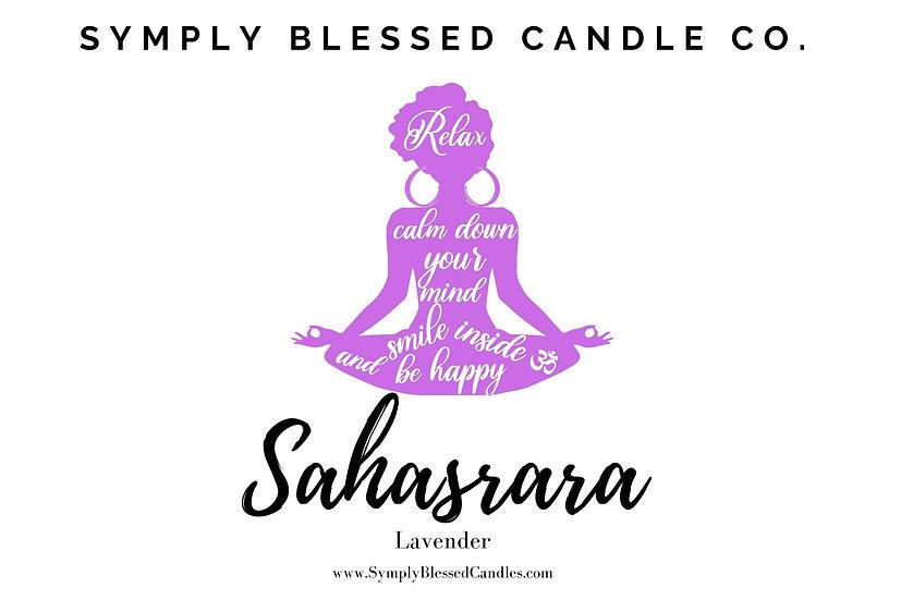 Sahasrara Chakra Candle (Crown)