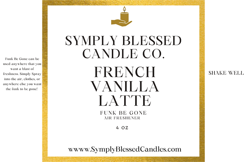 French Vanilla Latte Spray
