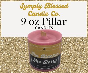 9 oz Pillar Candles