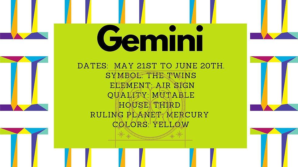 Gemini Zodiac Candle