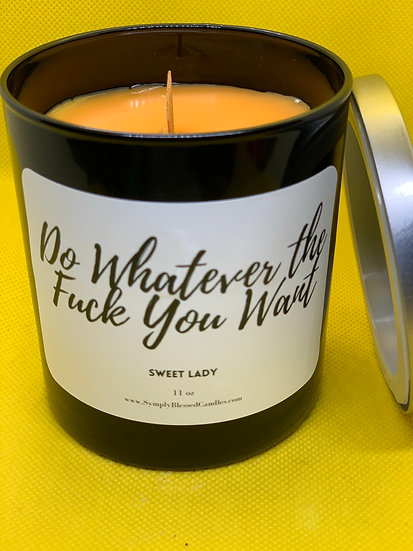 Say What Now? Candles