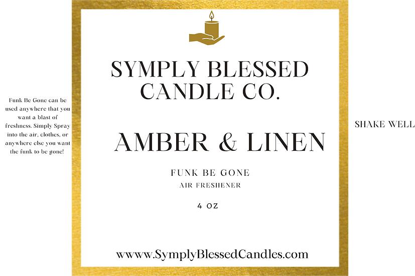 Amber & Linen Spray