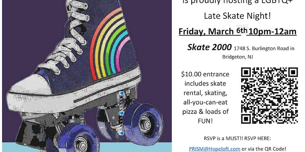 LGBTQ+ Late Skate Night