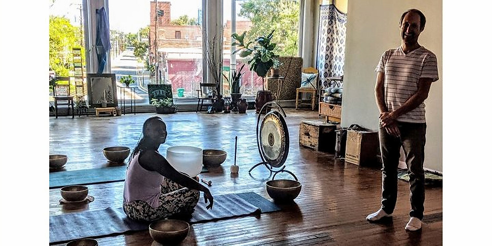 Sound Healing with Kirk Jones of Evolvlove Sound Therapy