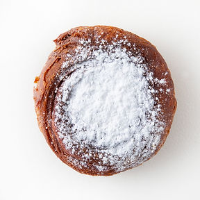 Powdered Fried Donut