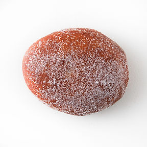 sugared jelly filled donut