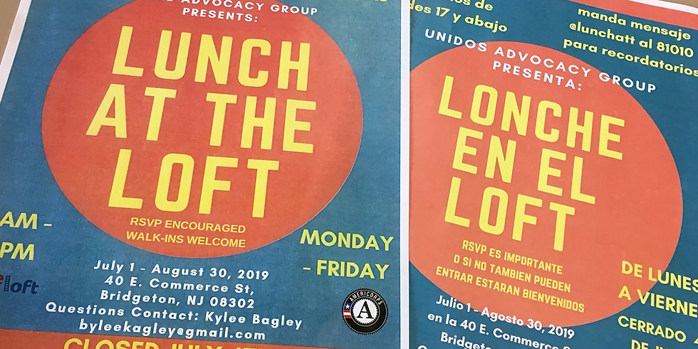 Lunch at the Loft: Free Lunch Program for Kids