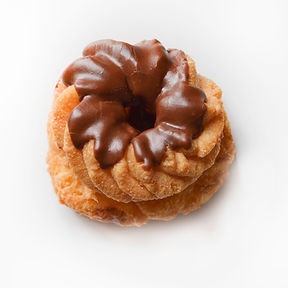 Chocolte Topped French Cruller