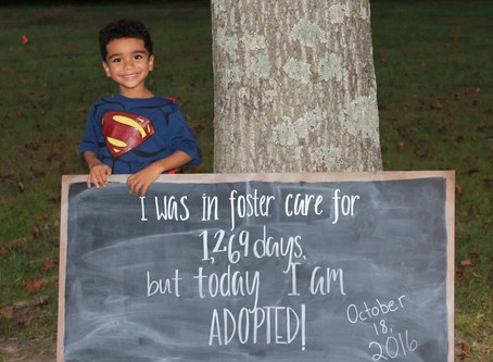Nathan is Adopted and a CASA Success Story!