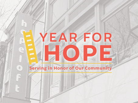 """Hopeloft Introduces """"Year for Hope"""" Campaign"""