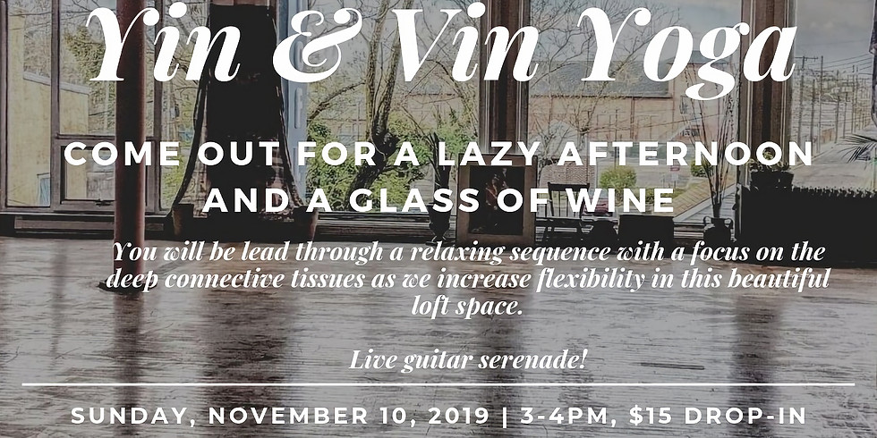 Yin & Vin Yoga
