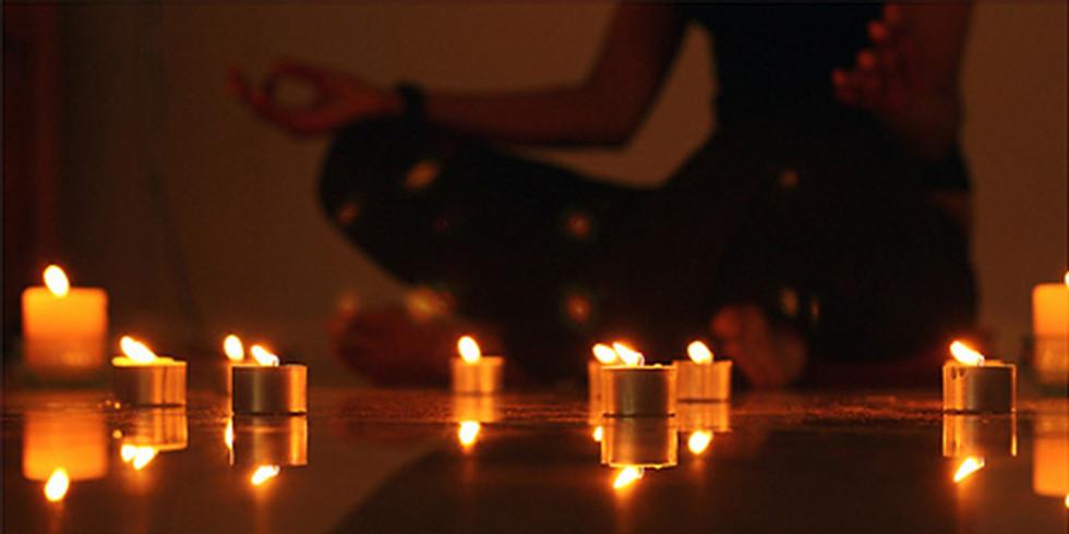 Candlelit Flow: Yoga with Joy