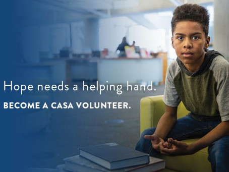 Join Our Online Training Class in July and Become a CASA Advocate