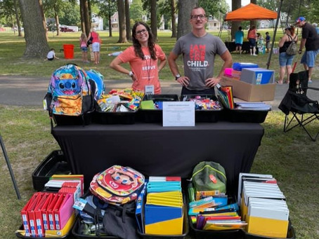 Thank you Fusion Church for donating to our Back-to-School Drive!