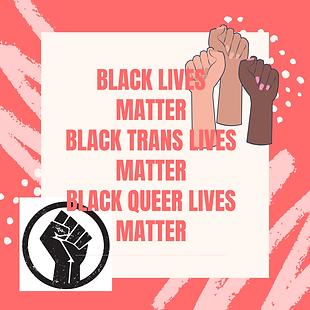 BLACK LIVES MATTER BLACK TRANS LIVES MAT