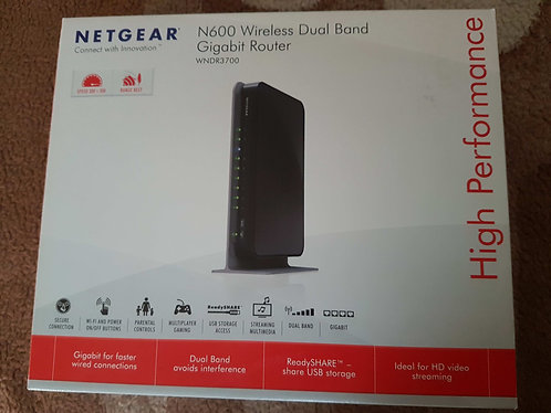 Netgear N600 Wireless Dual Band Gigabit Router