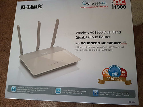 D-Link Wireless AC1900 Dual Band Gigabit Router
