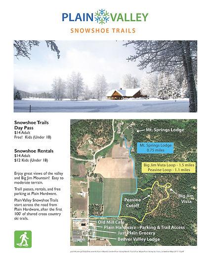 Plain Valley Ski Trails_Snowshoe1 Map_20