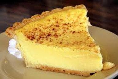 Old Fashioned Egg Custard Pie