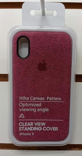Case iPhone X/Xs Tecido