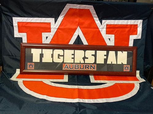 AU FAN PLAQUE