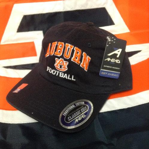 NAVY AUBURN FOOTBALL CAP