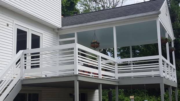 Custom railing