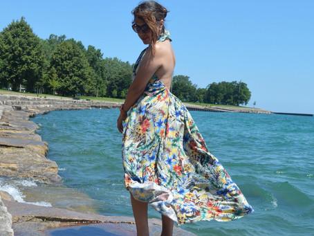 DIY Backless Dress