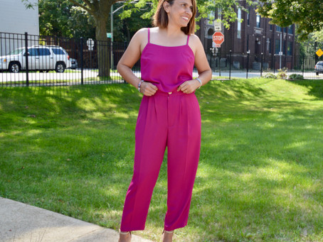 Cami & Pant Set Simplicity 9114 by Mimi G Style.