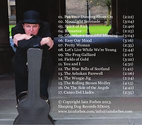 Track Listing for Ezy Ozy Mood by Iain Forbes