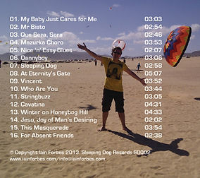 Track listing for Drawing in the Sand