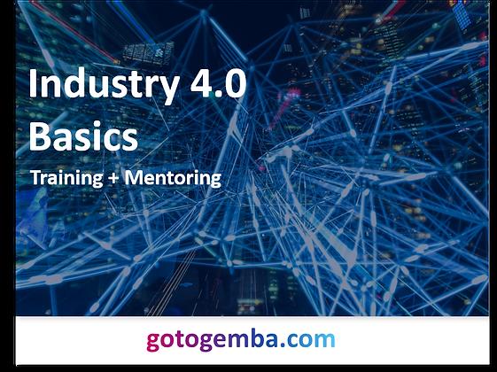 Industry 4.0 Basics Online Training & Mentoring