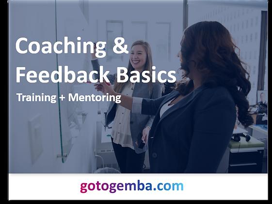 Coaching & Feedback Basics Online Training & Mentoring
