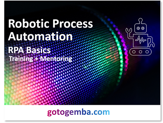 Robotic Process Automation  RPA Basics Online Training & Mentoring